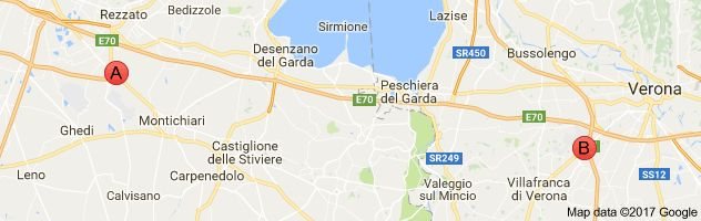 Karte von decathlon italien gardasee