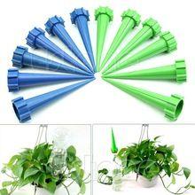 Darmowa wysyłka 12 roślin Kontrola Flower Water Drip Cone Spike Waterer Butelka systemu nawadniania (Chiny (kontynentalne))