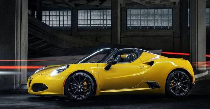 En spritny bil kan også være en udpræget sommerbil. Gul bil er trendy