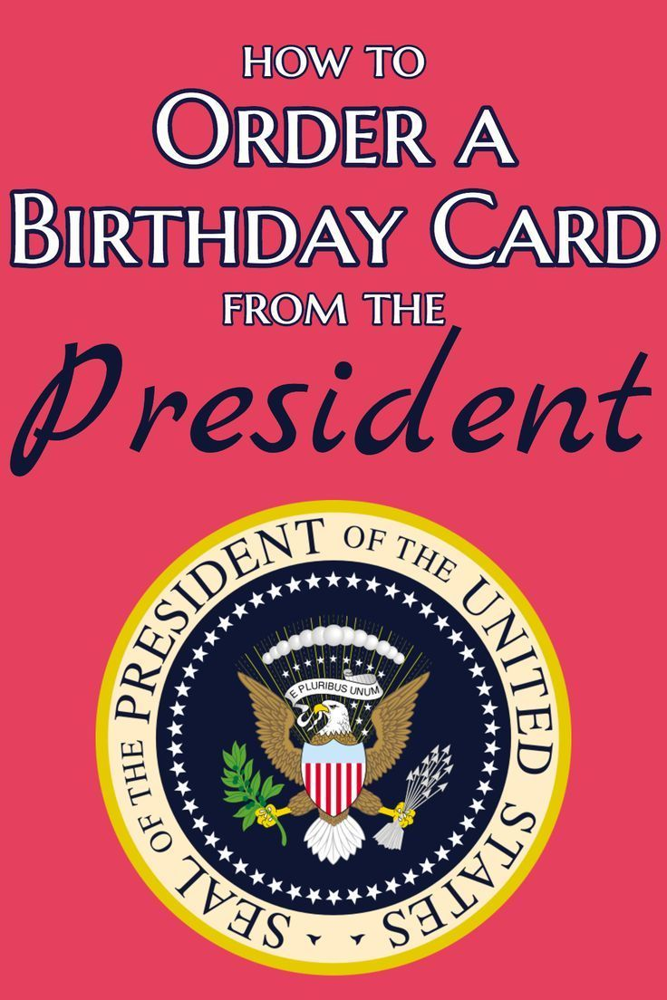How To Order An 80th Birthday Card From The President
