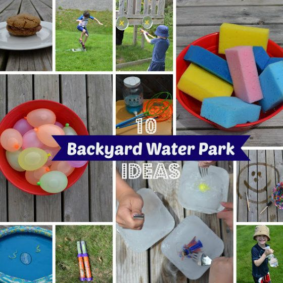 DIY Backyard Water Park | 11 Back-to-Basics Outdoor Activities for Kids