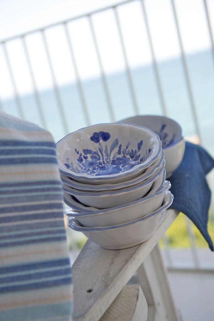 cup fioraccio blu
