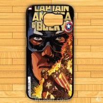 Avanger Captain America bucky Samsung Cases