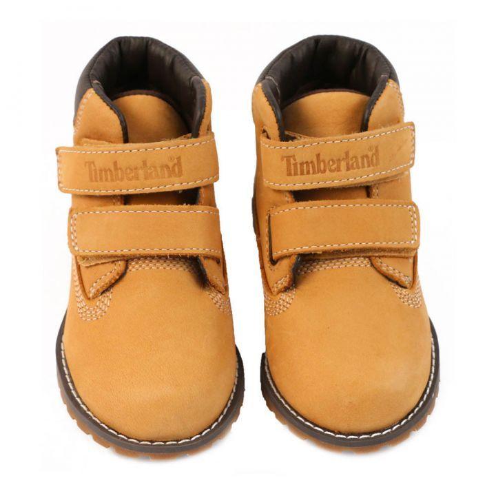 624d0d40813 Pine Pokey Velcro Boots Camel | Children's Dope Clothes ...