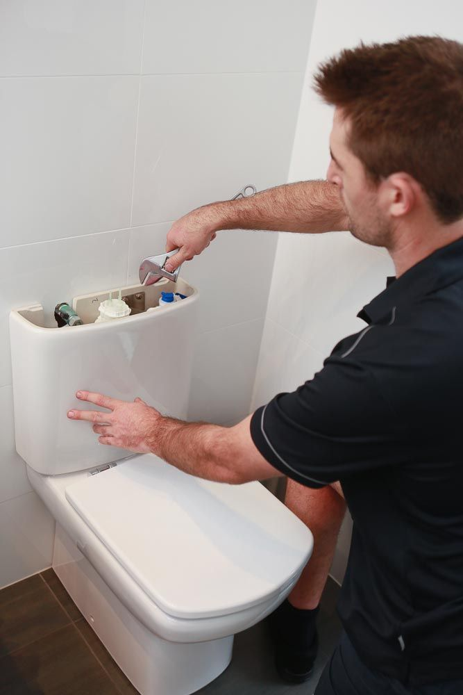 how to fix a leaking old caroma toilet cistern