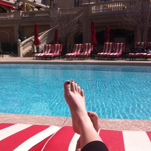 Poolside at the St. Regis, Atlanta!