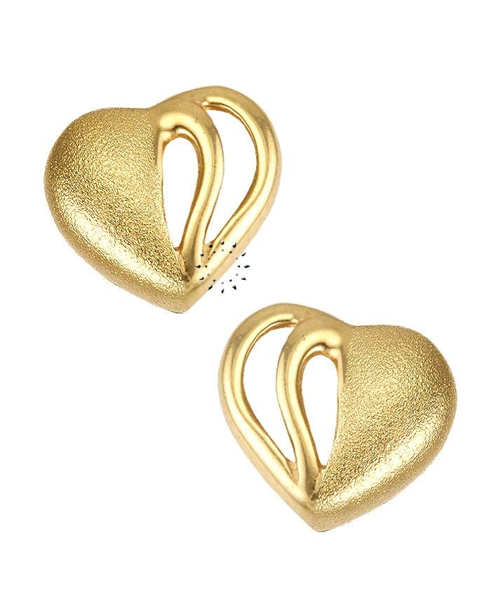 Σκουλαρίκια Καρδιά 14 καράτια Χρυσό  90€  http://www.kosmima.gr/product_info.php?products_id=9833