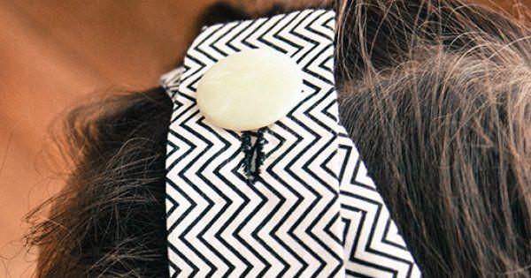 DIY-Headband en tissu