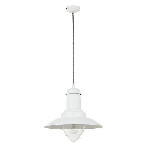 Buy John Lewis Barrington Pendant Ceiling Light, White Online at johnlewis.com