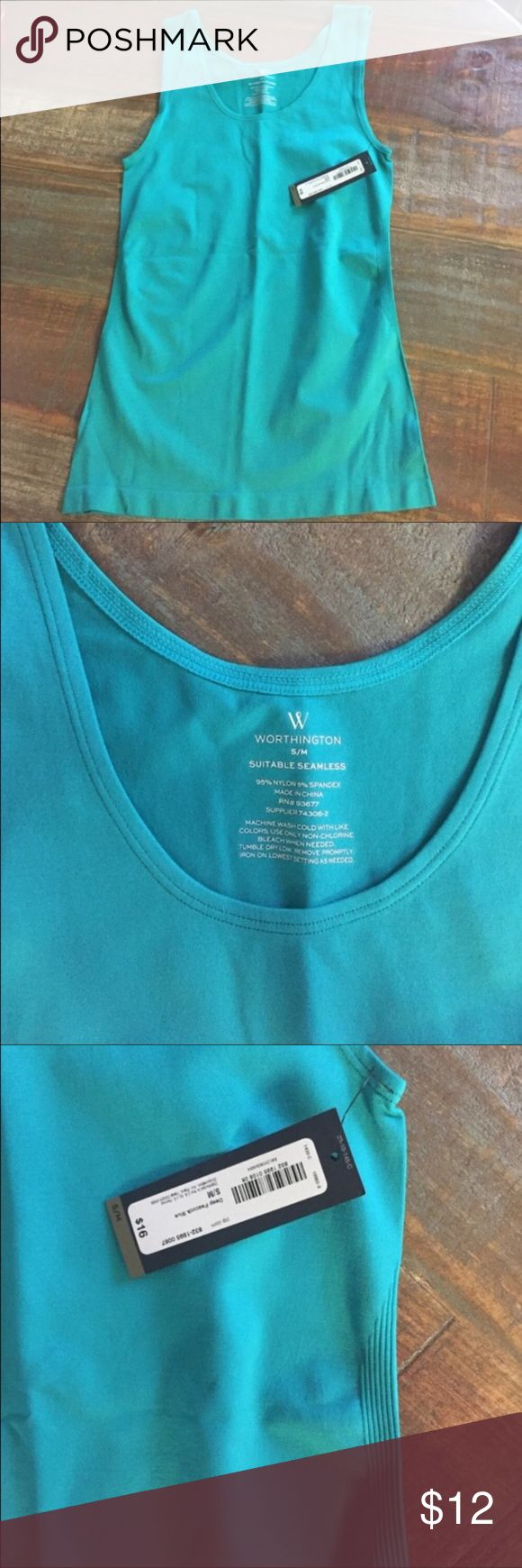 Tank Top New with Tag. Spandex Material. Worthington Tops Tank Tops