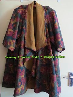 A Pretty Talent Blog: Sewing A Jacket With A Draped Lapel