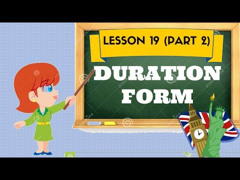 Lezione 19 (pt 2)- DURATION FORM - YouTube