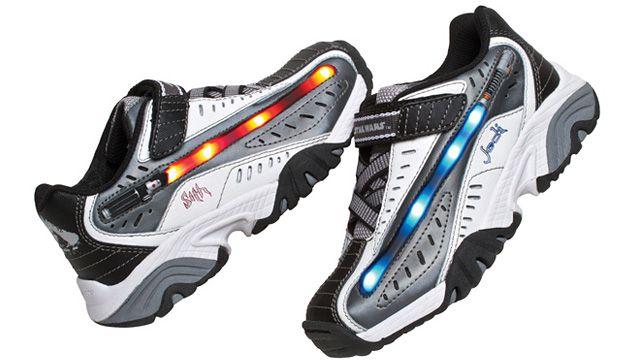 Lightsaber Sneakers: Lightsaber Sneakers, Stars, Star Wars, Force, Lightsaber Shoes, Kid