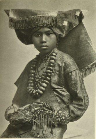 Bruid, Sumatra, Indonesië (1920-1923)