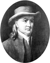"Stephen Hopkins, Mayflower passenger 1620.  The only Mayflower passenger who had previously been to the New World, including surviving a shipwreck in Bermuda and working from 1610–14 in Jamestown.  William Shakespeare's ""The Tempest"" is believed to be based upon his Bermuda shipwreck incident.  The first formal meeting with the Indians was held at Hopkins' house and he was called upon to participate in early Pilgrim visits with the Indian leader Massasoit. Generation 13 on family tree."