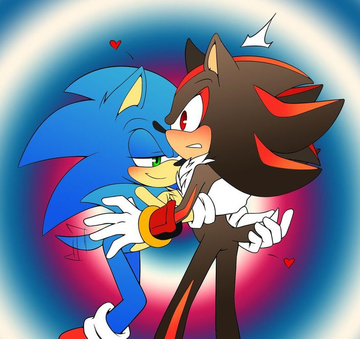 Sonic and shadow gay