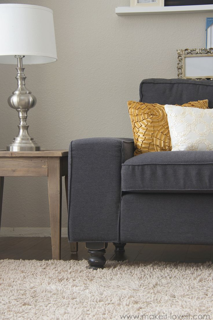 64 best sofa images on pinterest beige colour blue velvet sofa diy custom couch or arm chair legs make it and love parisarafo Images