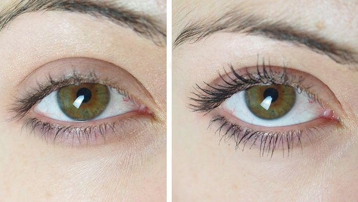 Manhattan mascara swatch