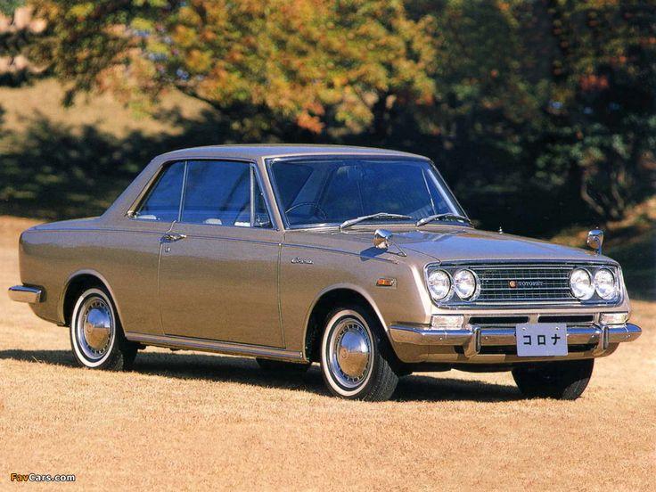 Toyopet Corona Hardtop Coupe (RT50) 1965