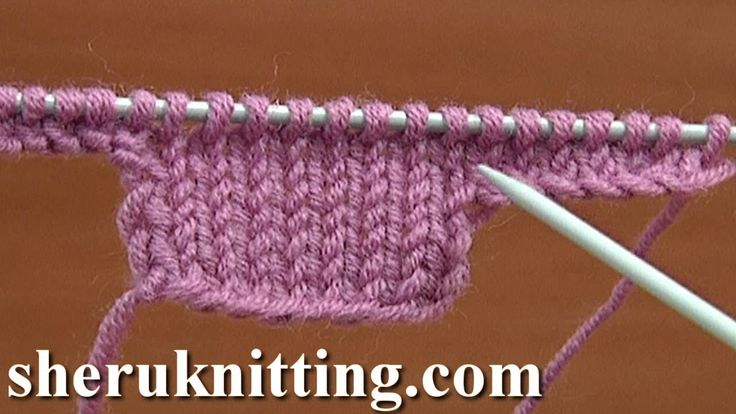 How to Knit Increase Tutorial 8 Method 13 of 16 - YouTube