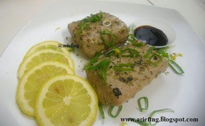 arieftng: Tuna Panggang Saus Lemon