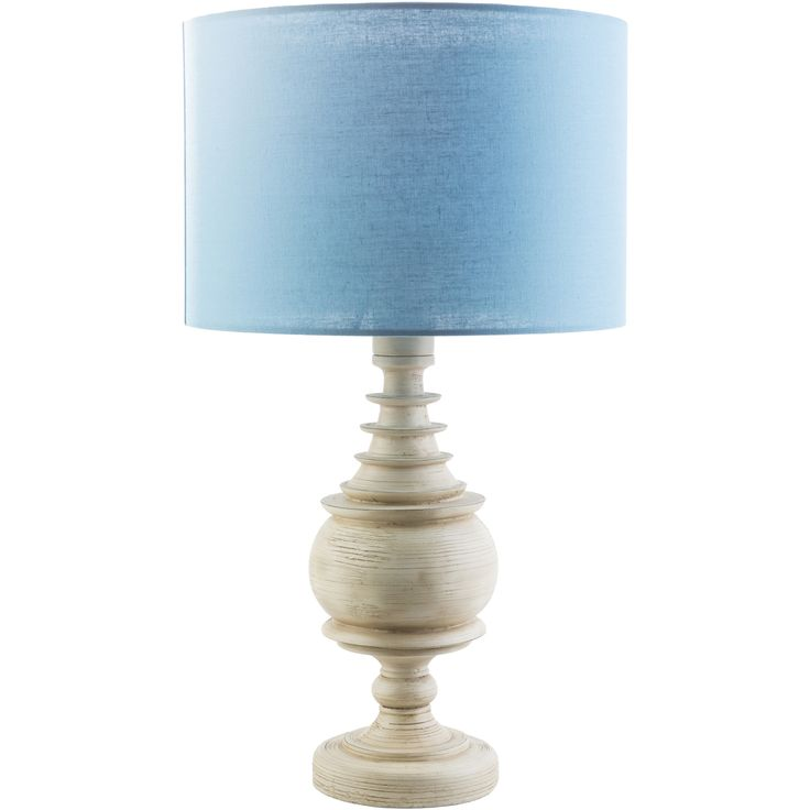 Chantilly Indoor/Outdoor Table Lamp, Sky