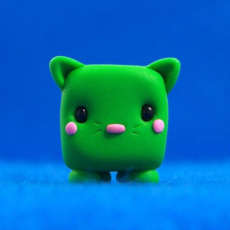 Kawaii Cat Cube | by Jenn and Tony Bot