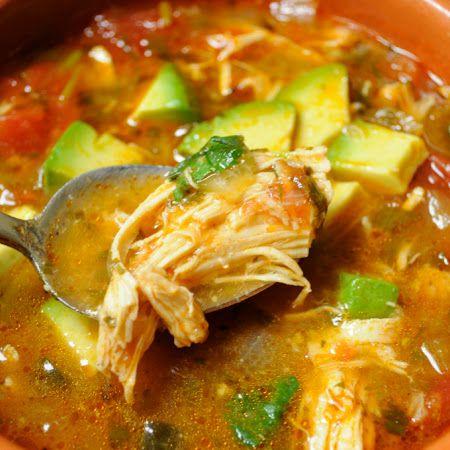 Paleo Comfort Foods' Chicken Tortilla-less Soup