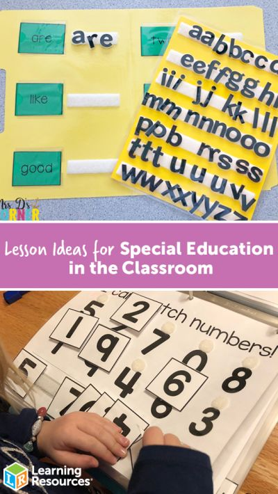 Lesson Ideas for Special Education in the Classroom