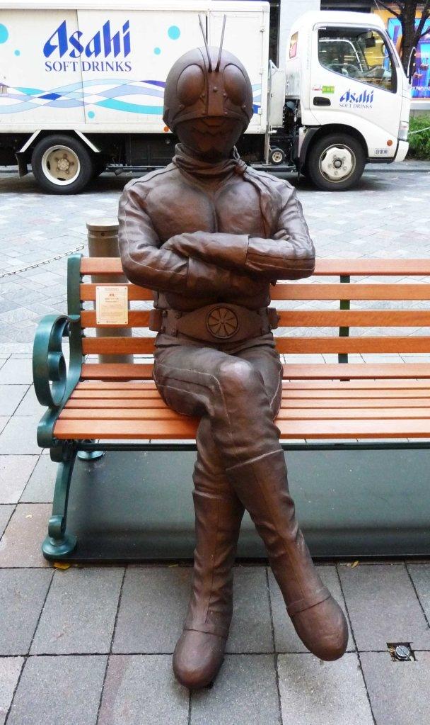 Street statues Tokyo Japan