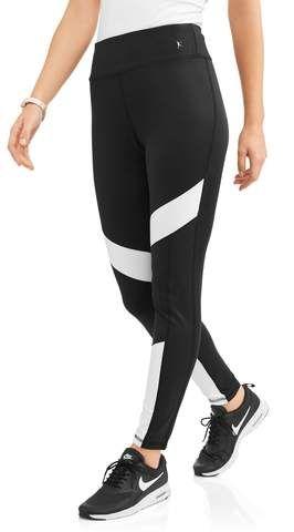 b87dbcbb80741 Danskin Now Womens Active Colorblock Performance Legging | lady ...