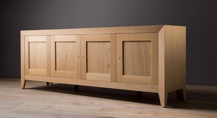Europa Sideboard in Natural French Oak
