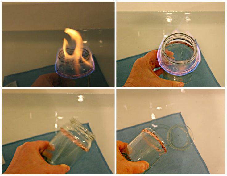 glas ohne glasschneider trennen