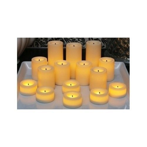 Outdoor Flameless Candles Extraordinary 10 Best Images About Flameless Candels Set Of 15 Battery Operated Inspiration Design