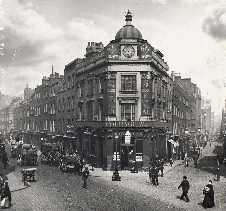 Seven Dials | London Towne | Victorian london, London ...