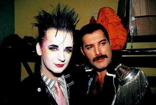 Boy George & Freedy Mercury