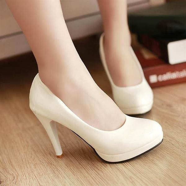 - Cool classy pump work low heels for the stylish fashionista - Trendy design…