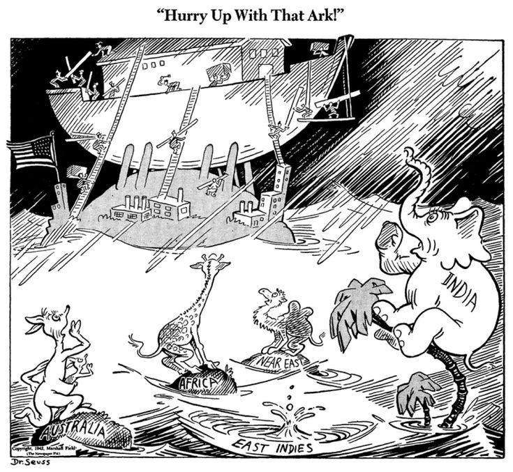 Dr. Seuss World War II Cartoons Reflect Author's Politics And Imagination (PHOTOS)