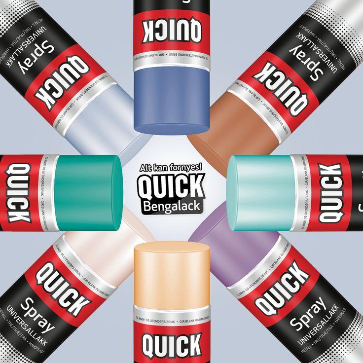 Se på alle disse nye fargene! :D Vi har utvidet fargepalletten med hele åtte nye farger!