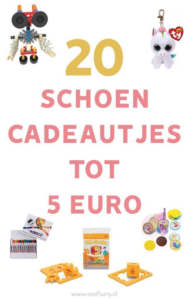 20 Schoencadeautjes Tot 5 Euro Sinterklaas Pinterest