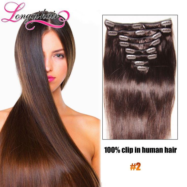 Блондинка Клип В Наращивание Волос Человека Клип На #18 #27 #613 медовый Блондин Цвет Реми Зажим Для Волос Ins Бразильский Клип В Расширениях купить на AliExpress