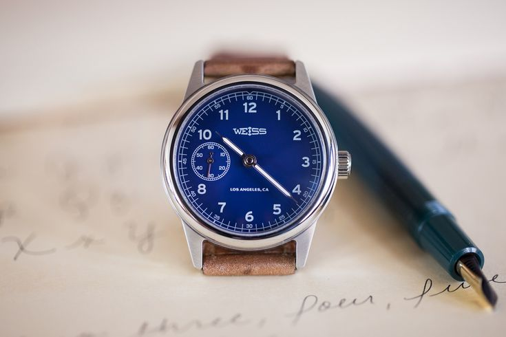The Weiss 38mm Automatic Issue Field Watch