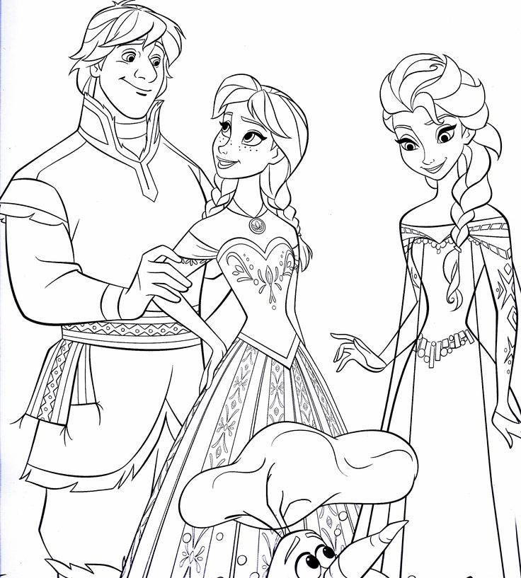47 best Frozen Coloring images on Pinterest Adult coloring