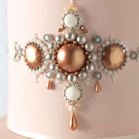 22 best Diamonds Pearls Wedding Cakes images on Pinterest Cake