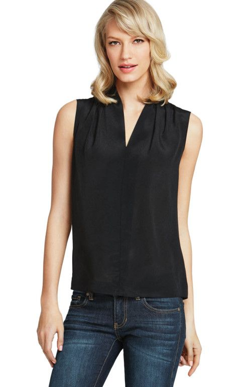 CAbi's Business Blouse is a must for all my working ladies, perfect under suits, comes in other colors, and great back to jeans!!