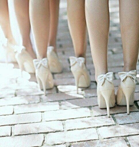 bridesmaid shoes royal blue bows