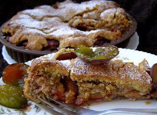 W Mojej Kuchni Lubię.. : ucierane ciasto orzechowo-pomarańczowe ze śliwkami...