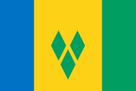 Flag of St. Vincent and the Grenadines