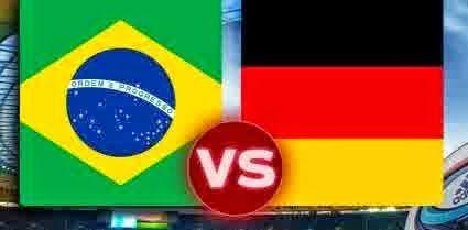 Perkiraan Skor Empat Besar World Cup 2014 : Brasil vs Jerman