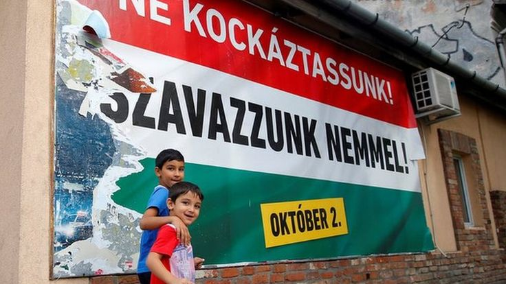 Hungarians are set to go to the polls in a referendum on whether to accept mandatory EU quotas for relocating migrants.
